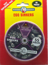 Neptune Egg Sinkers -55 Piece dial pack BRAND NEW