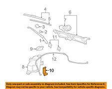 Chevrolet GM OEM 06-11 HHR Windhsield Wiper-Washer Fluid Pump 19330913