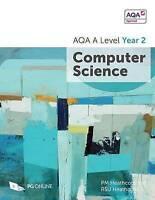AQA A Level Year 2 Computer Science by Heathcote, R SU, Heathcote, P M, NEW Book