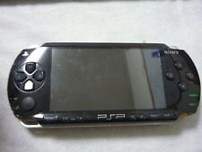 C716 Sony PSP 1000 console Piano Black Handheld system Japan w/battery