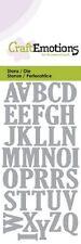 Craft Emotions Cutting Dies - Alphabet Uppercase - 0163 - New