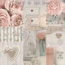Diamond Rose Wallpaper Blush - Arthouse 259900 Glitter Sparkle