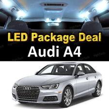 For 2002 - 2006 2007 2008 Audi A4 LED Lights Interior Package Kit WHITE 17PCS