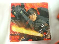 How to Train Your Dragon 2 Large Birthday Napkins 16 Perth New Hallmark Party