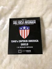 Loot Crate Exclusive Marvel Captain America 1:6 Scaled replica 1940 Shield