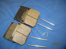 TRIUMPH TR5 TR6 GT6 set of BRAKE PADS with BRAKE PINS and R clips  SET.