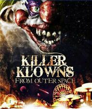 Killer Klowns From Outer Space 0883904283492 With John Vernon Blu-ray Region a
