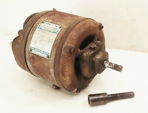 "Vtg antique Craftsman 1/3 hp 115v 1ph 1750 rpm 1/2"" shaft electric motor SW140"