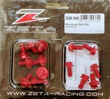 Zeta Aluminum Bolt Red Kit For Suzuki DRZ SM 400 05-15