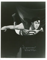 KIRK ALYN SIGNED AUTOGRAPHED 8x10 PHOTO FIRST FILM SUPERMAN RARE BECKETT BAS