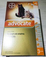 3 x 0.4mL ADVOCATE FOR KITTENS AND SMALL CATS UP TO 4KG