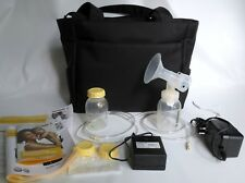 New Medela Pump In Style Advanced Double Breast Pump On-The-Go Tote w/Accessory