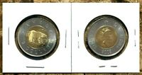 Canada 2003 Old Effigy Brilliant Uncirculated BU UNC Toonie!!