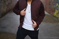 NWT Abercrombie & Fitch By Hollister Mens Sweater Bomber Jacket Sz XS S M L XL