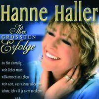 """HANNE HALLER """"EINMALIG-IHRE GRÖßTEN ERFOLGE"""" CD NEUWARE"""
