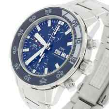 IWC Aquatimer Chronograph Day Date Blue Dial Automatic Steel 44MM Watch IW376711