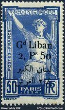 GRAND LIBAN JEUX OLYMPIQUES N° 48 NEUF * AVEC CHARNIERE A VOIR