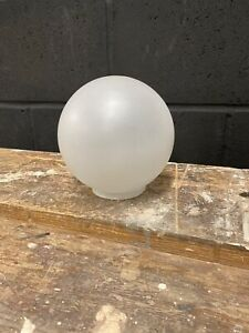 Frosted White Ball Clip On Replacement Glass Lampshade Ceiling Wall Light