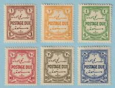 JORDAN J30 - J35 POSTAGE DUES  MINT HINGED OG * NO FAULTS EXTRA FINE! - Y046