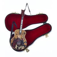 KURT S. ADLER GRATEFUL DEAD GUITAR w/CASE MUSICAL INSTRUMENT CHRISTMAS ORNAMENT