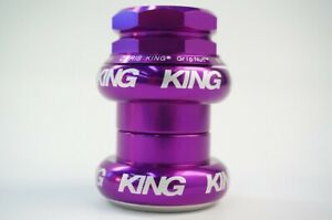 New CHRIS KING GripNut Threaded Headset 1inch Purple HSA2P Free Shipping