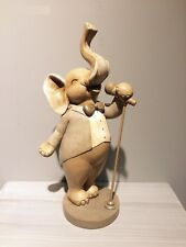 Home Decor-Elephant Sculptures & Figurin Singing