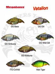 Megabass Vatalion Vibration Swimbait / Glidebait - Choose Color