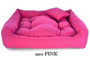 Luxury Soft Comfy Dog Cat Pet Warm Sofa Bed Cushion Extra LARGE up to 130cm NE