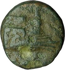 """ELAIA in Aeolis Asia Minor 340BC Galley """"trireme"""" Ancient Greek Coin i34431"""