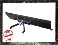 Universal Schneeschieber Räumschild Schneeschild 150 cm Gekanntet Schwarz