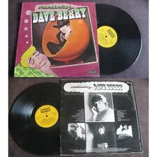 DAVE BERRY - Remembering... Dave Berry LP Pop Swingin London Press UK