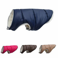 Pet Fleece Dog Clothes Vest Reflective Puppy Winter Soft Dog Coat Size XS-5XL