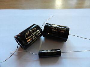 Mundorf Bipolarer Elko rau der Baureihe ECap AC Audio Coupling RAW 56 µF/100VDC