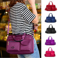 New Women Travel Handbag Shoulder Bag Nylon Messenger Waterproof Crossbody Bag