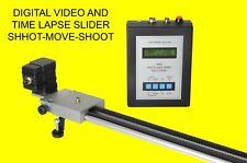 150 cm Motorized digital video and time lapse slider shoot-move-shoot timelapse