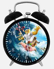 """SpongeBob SquarePants Alarm Desk Clock 3.75"""" Home or Office Decor Z201"""