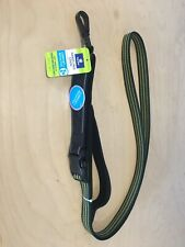 Top Paw 4'-6' Hands Free Leash Comfort Reflective Green Black New