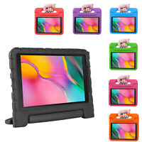 "Samsung Galaxy Tab A 2016 10.1"" Full Body Case Handle Stand For Kids T580 T585"