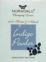 NORWORLD INDIGO POWDER 100% HERBAL & NATURAL INDIGOFERA TINCTORIA