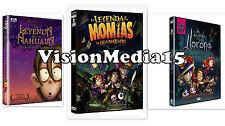 3 Pk Leyenda De La Nahuala La LLorona y Momias De Guanajuato DVD SHIPS NOW !!