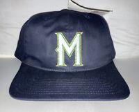 Vtg Milwaukee Brewers Snapback hat cap 90s MLB Baseball nwt Twins Enterprises