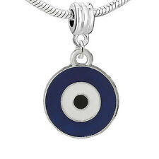 """Evil Eye "" European Charm for Snake Chain Charm Bracelet"
