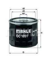 Ölfilter KNECHT OC 1051 Anschraubfilter für FORD FOCUS 3 Turnier MAX 2 DXA CB7 6