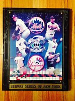 MAJOR LEAGUE BASEBALL AUTHENTICATED 2000 SUBWAY SERIES OF NEW YORK METS VS YANKE