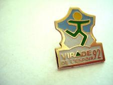 PINS Mucoviscidose ASSOCIATION VIRADE DE L'ESPOIR 1992