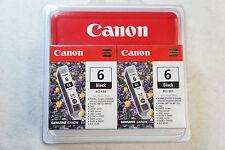 Canon BCI-6BK Twin Pack Black Ink Cartridge