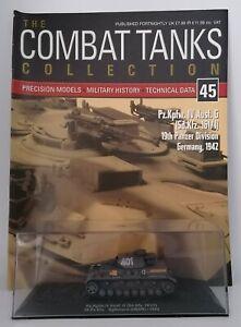 DeAgostini - Combat Tanks Collection - Pz.Kpfw.IV Ausf. G (Sd.Kfz, 161/1) 19.Pz.