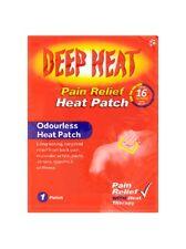 DEEP HEAT PAIN RELIEF ODOURLESS HEAT PATCH - 1 PATCH