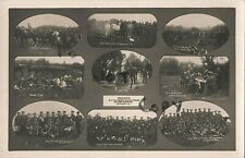 Multi view City of London Yeomanry Rough Riders Annual Camp Lutterworth ? 1913