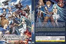 Granblue Fantasy: The Animation (Chapter 1 - 13 End) ~ DVD ~ English Subtitle